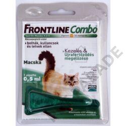 Frontline Combo Macska – Bolha és kullancs ellen