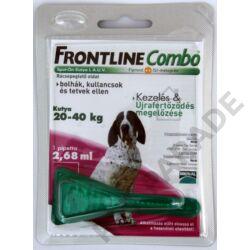 Frontline Combo Kutya L – Bolha és kullancs ellen