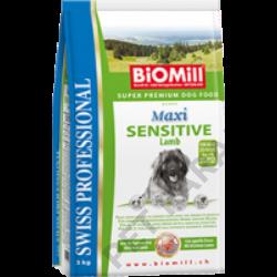 Maxi Sensitive Lamb kutyatáp - szárazeledel, felnőtt, nagy termetű kutyák számára, bárány hússal, 12kg