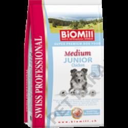 Medium Junior Chicken kutyatáp - szárazeledel, fiatal, közepes termetű kutyák számára, csirke hússal, 3kg