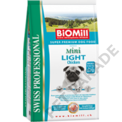 Mini Light Chicken kutyatáp - szárazeledel, túlsúlyos, elhízásra hajlamos, kistestű kutyák számára, csirke hússal, 3kg