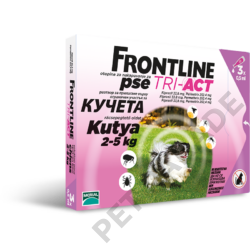 Frontline Tri-Act XS (2-5kg)