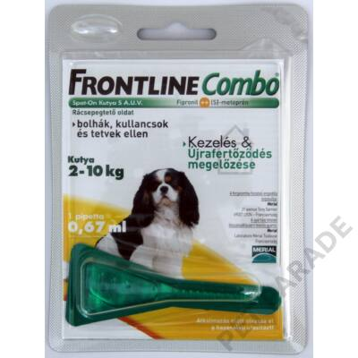 Frontline Combo Kutya S  – Bolha és kullancs ellen