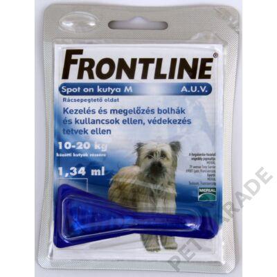 Frontline Spot On Kutya M  – Bolha és kullancs ellen