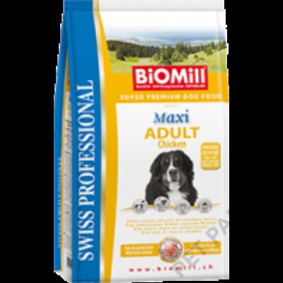 Maxi Adult Chicken kutyatáp  - szárazeledel, felnőtt, nagy termetű kutyák számára, csirke hússal,  12kg