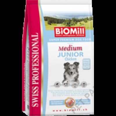 Medium Junior Chicken kutyatáp - szárazeledel, fiatal, közepes termetű kutyák számára, csirke hússal , 12kg