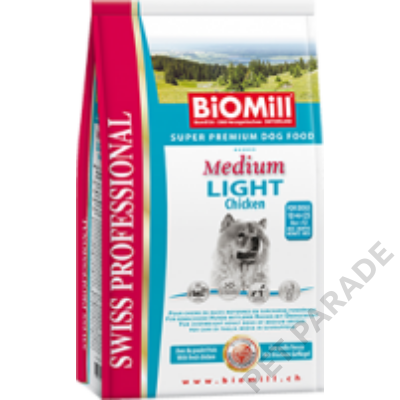Medium Light Chicken kutyatáp - szárazeledel, túlsúlyos, elhízásra hajlamos, közepes termetű kutyák számára, csirke hússal, 3kg