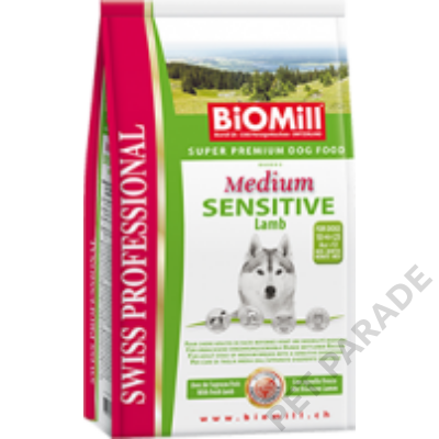 Medium Sensitive Lamb kutyatáp - szárazeledel, felnőtt, közepes termetű kutyák számára, bárány hússal, 12kg