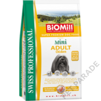 Mini Adult Chicken kutyatáp - szárazeledel, felnőtt, kistestű kutyák számára, csirke hússal, 3kg