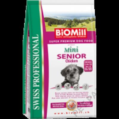 Mini Senior Chicken kutyatáp - szárazeledel, idős, kistestű kutyák számára, csirke hússal, 3kg