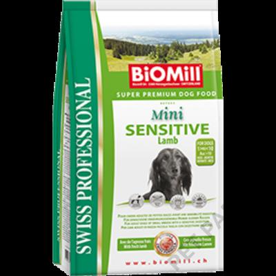 Mini Sensitive Lamb kutyatáp – szárazeledel felnőtt, érzékeny gyomrú, kistestű kutyák számára, bárány hússal, 12 kg