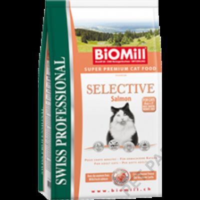 Cat Selective Salmon macskatáp - szárazeledel, felnőtt, ételre érzékeny, válogatós macskák számára, lazac hússal, 1.5kg
