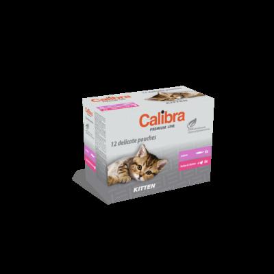 Calibra Cat Premium Line Kitten Multipack 12x100 gr