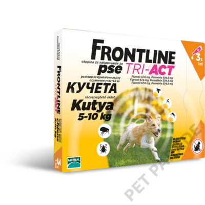 Frontline Tri-Act S (5-10kg)