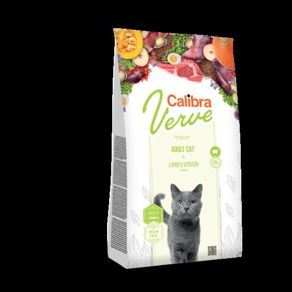 Calibra Cat Verve Adult Lamb and Venison 8+ 750 gr