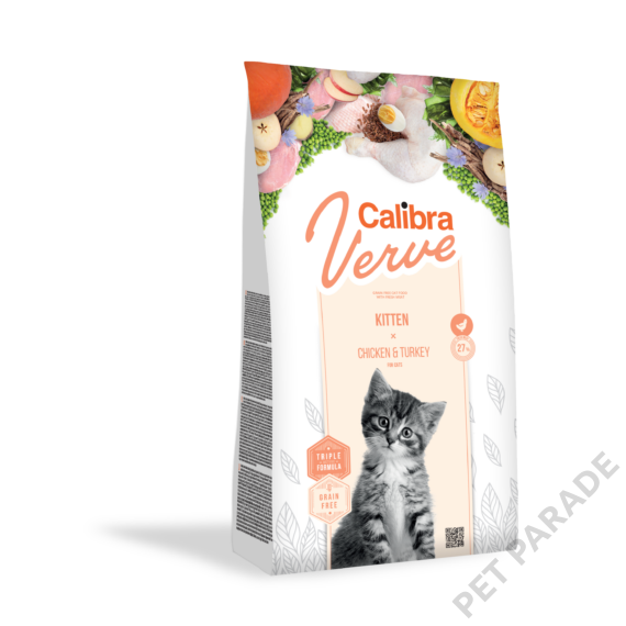 Calibra Cat Verve Kitten Chicken & Turkey 750 g