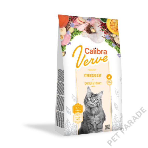 Calibra Cat Verve Sterilised Chicken & Turkey 750 gr