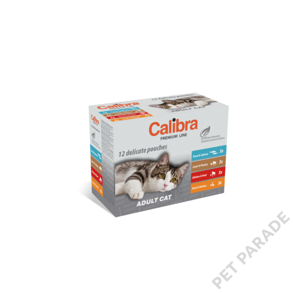 Calibra Cat Premium Adult Multipack 12x100 gr