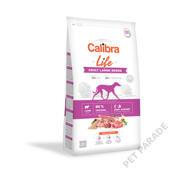 Calibra Dog Life Adult Large Breed Lamb 12 kg